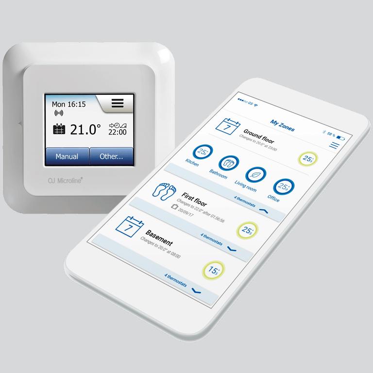 OJ Electronics Θερμοστάτες και Αισθητήρια