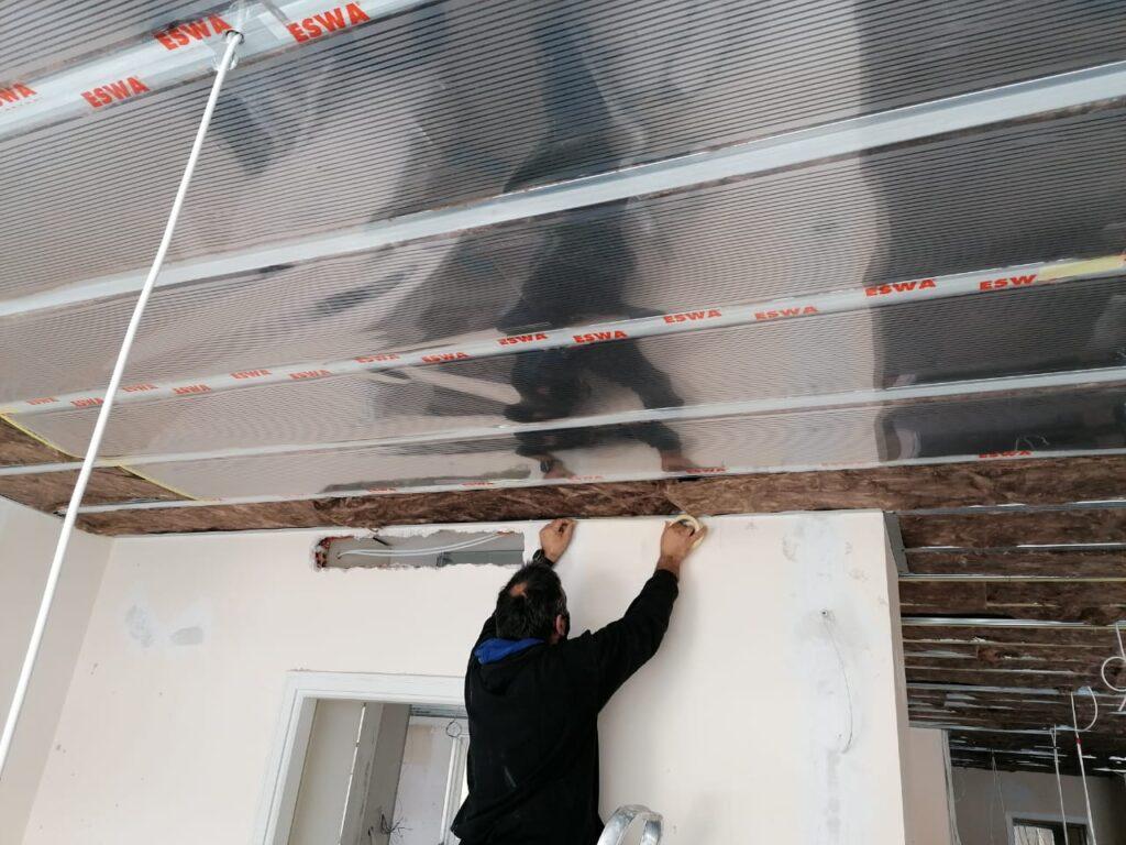 Θερμικά Φύλλα ESWA - Θέρμανση Οροφής